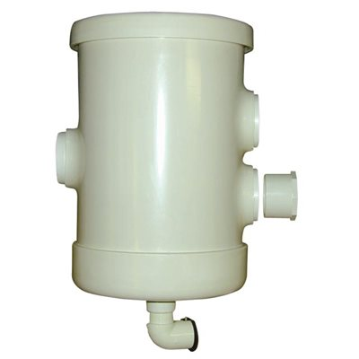 "Coburn 4"" Pre-Filter for Single & Double Pump with Stainless Steel Filter"