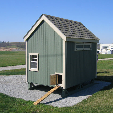 Little Cottages Company Colonial Gable Chicken Coop