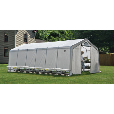 ShelterLogic GrowIT Heavy Duty Greenhouse 12 X 24 X 8 Ft.