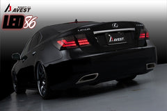 Avest Lexus LS460/600 LED Tail Lights (Smoked)
