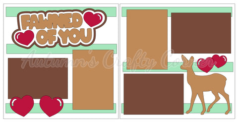 Fawned of You - Scrapbook Page Kit