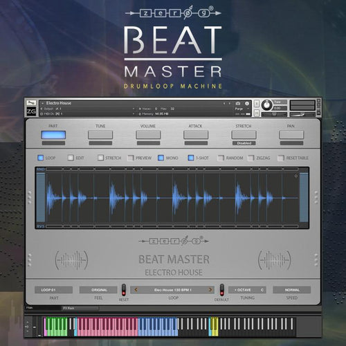 Beat Master Drumloop Machine