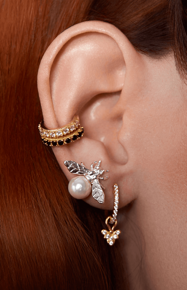 Rosalind Ear Cuff | Black