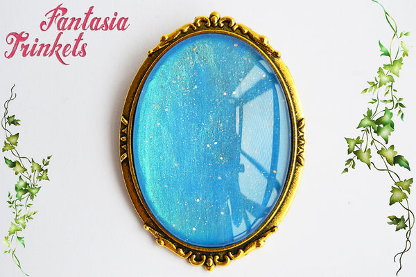 Elsa's Coronation Brooch - Disney Princess Jewelry - Frozen inspired