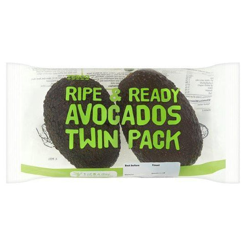 From Peru Fruits Avocado Hass - Twin Pack Ready to Eat