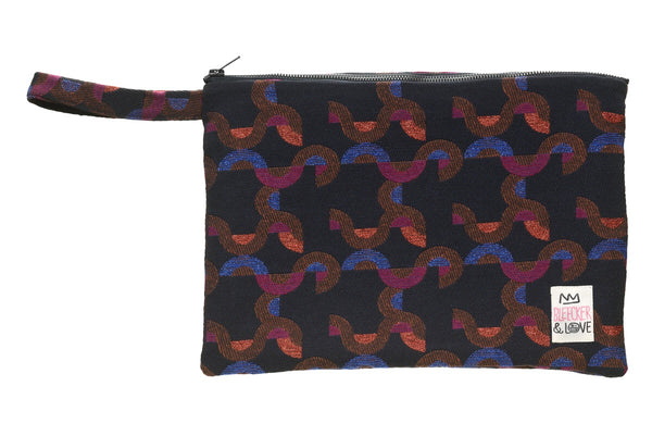 Bleecker & Love Cotton Zip Pouch -   Curves