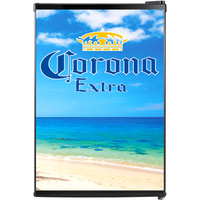 Corona Fridge, Corona Beer Fridge, Corona Mini Fridge, Corona Fridge Decals, Custom Fridge Wraps, Fridge Decals