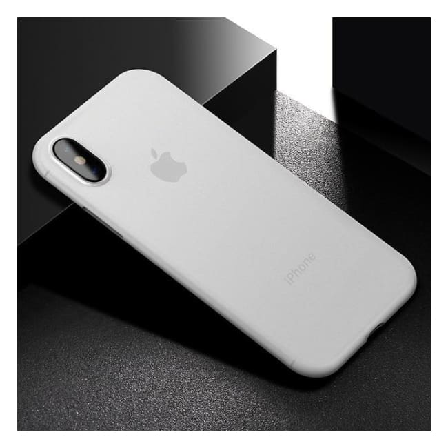 Ultra Thin Matte Case For iPhone X