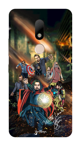 BB Saste Avengers Edition for Motorola Moto M