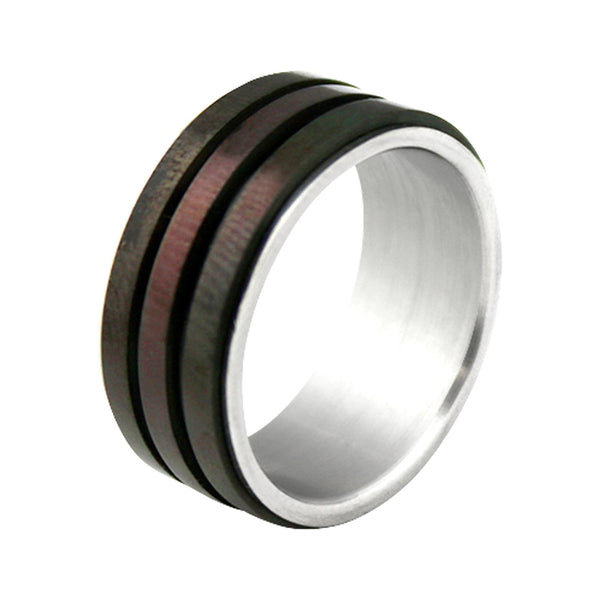 Zane Triple Ring Wood Design | The Medieval Store