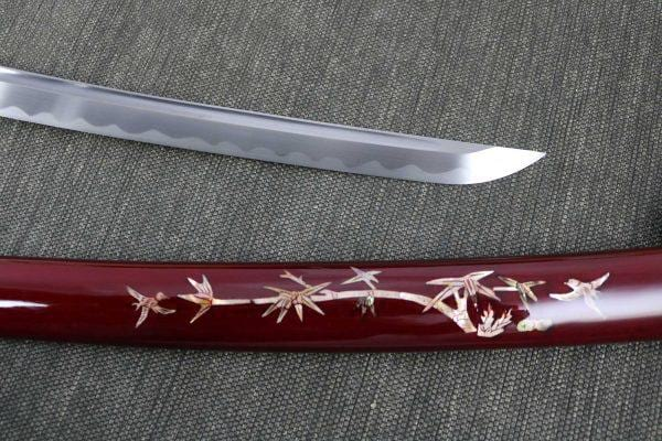 Wakazashi Warrior Red | The Medieval Store