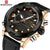 Luxury Men Analog Digital Leather Sports Watches Men's Army Military Watch Man Quartz Clock Relogio Masculino