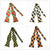 100% Silk Multi-Colors Self Bow ties