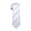 Men Tie Geometric Neck Tie Silk Jacquard Ties For Men Business Wedding Party