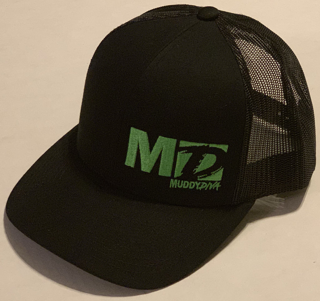 Green Logo Muddy Diva Cap