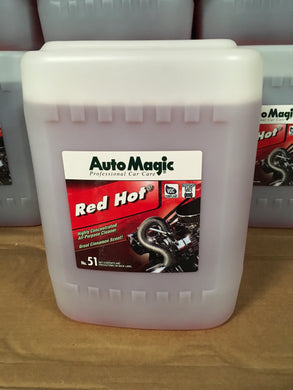 Auto Magic Red Hot All Purpose Cleaner 5Gal.