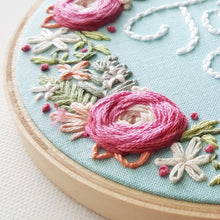 Woven Rose Border Embroidery Pattern (PDF)