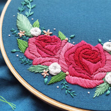 Coming up Roses Embroidery Pattern (PDF)