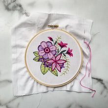 Bloom Hand Embroidery Pattern (PDF)