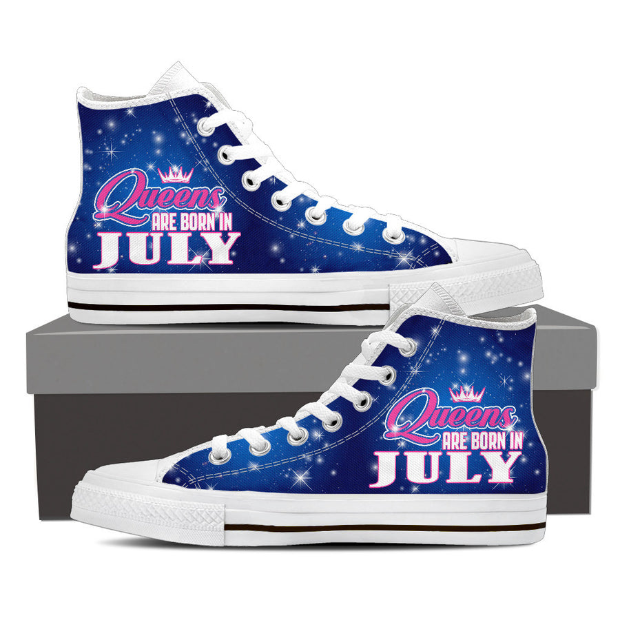 Queens are born in july - shoe