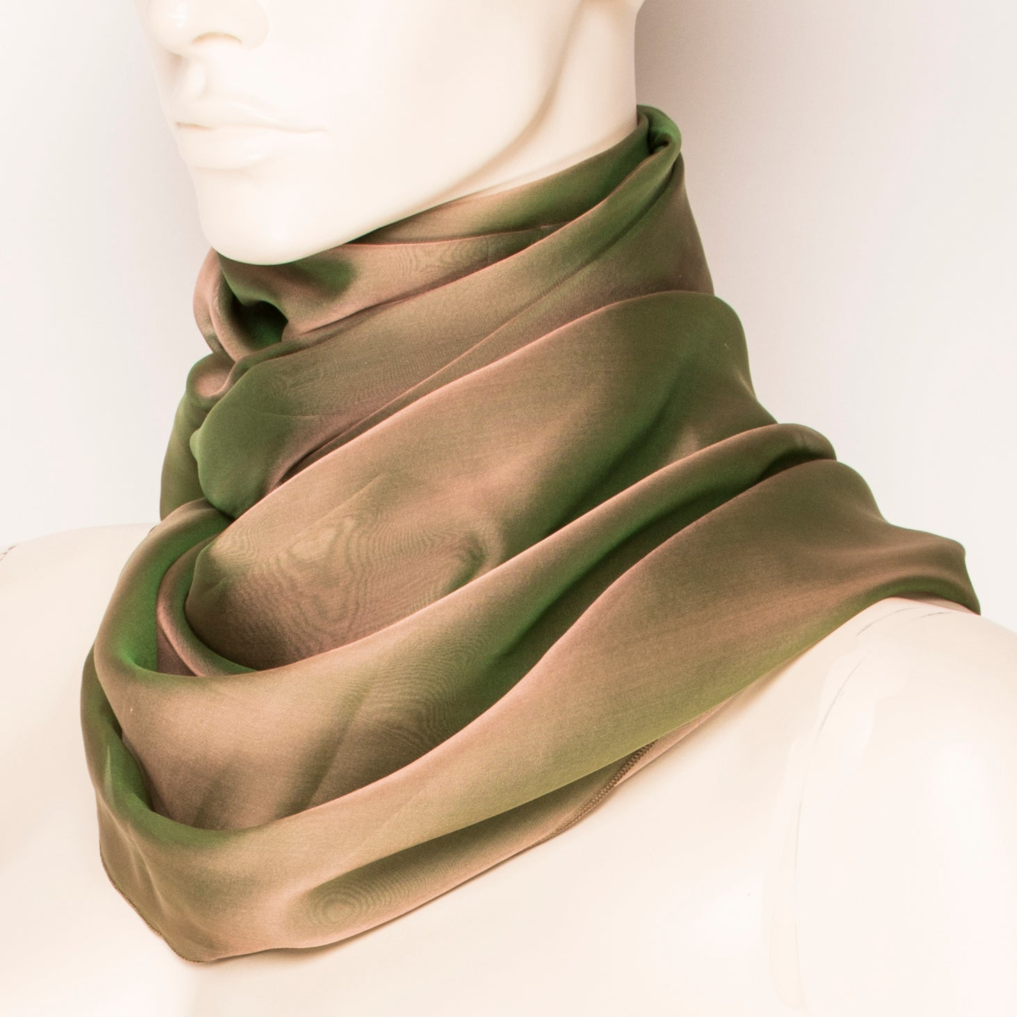 Sherwood Silk Scarf E013