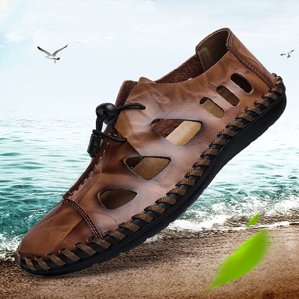 Oversize See Through Men's Sandals