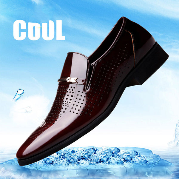 Retro-hollow Business Men's Formal Shoes