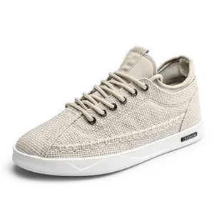 Canvas Plain Lace Up c