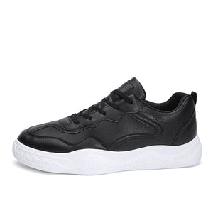 Wear Resistant Vintage Pure Color Men's Sneakers