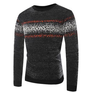 Long Sleeve Pullover Round Neck  Men's Sweater