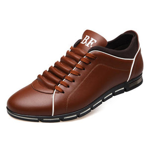 Men's British Breathable Leather Shoes