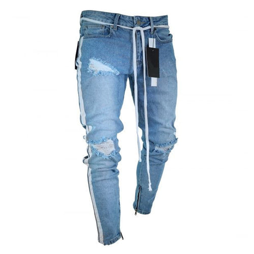 Trend Light-blue Slim Jeans