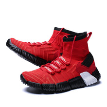 Anti-skid Outdoor High Knitting Barrel Men's Boots