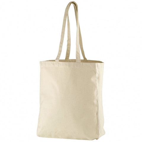 Canvas Bag Cream 43 x 38 x 13cm