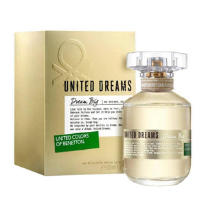 United Colors of Benetton United Dream Big EDT For Women 80ml