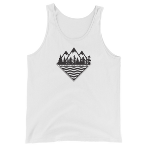 Treeline Tank - Beyond The Treeline Clothing - Hiking, Mountains, Camping, Outdoors, Shirts, Hoodie