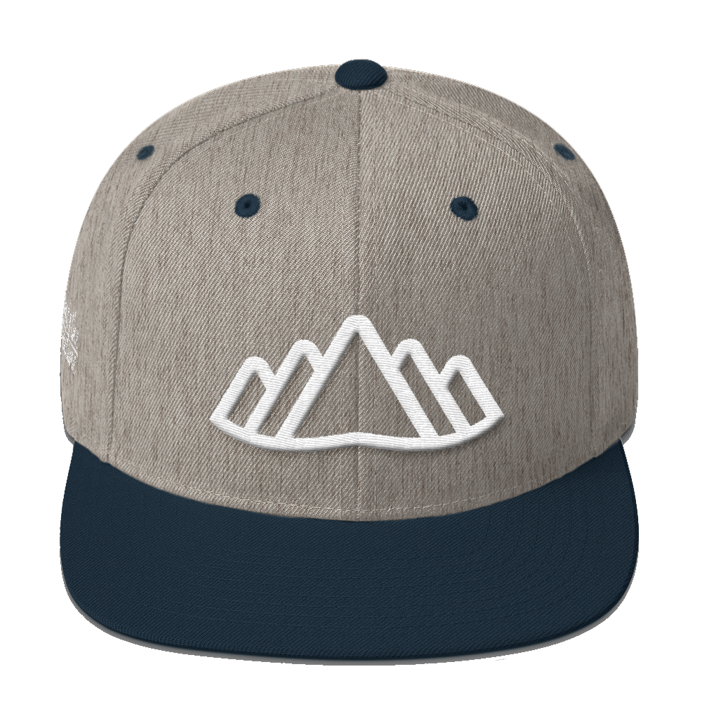 Altai Snapback - Beyond The Treeline Clothing - Hiking, Mountains, Camping, Outdoors, Shirts, Hoodie