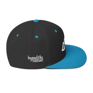 Quebec Snapback - Beyond The Treeline Clothing - Hiking, Mountains, Camping, Outdoors, Shirts, Hoodie