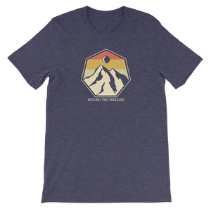 Mountain Crest R Tee - Beyond The Treeline Clothing - Hiking, Mountains, Camping, Outdoors, Shirts, Hoodie