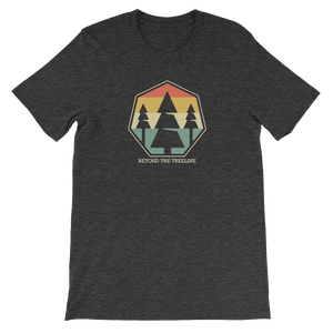 Tree Crest R Tee - Beyond The Treeline Clothing - Hiking, Mountains, Camping, Outdoors, Shirts, Hoodie