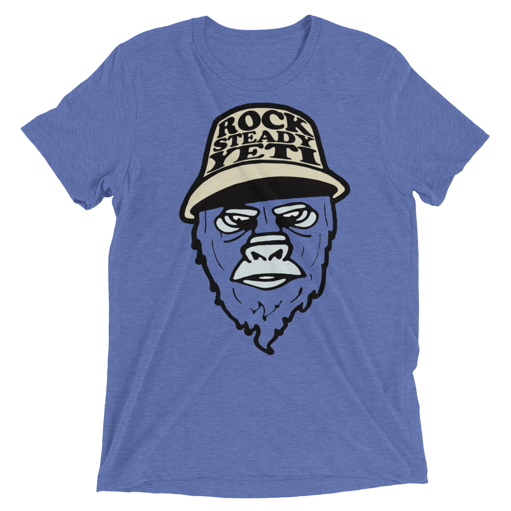 Rocksteady Yeti Triblend - Beyond The Treeline Clothing - Hiking, Mountains, Camping, Outdoors, Shirts, Hoodie