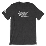 Cursive Tee - Beyond The Treeline Clothing - Hiking, Mountains, Camping, Outdoors, Shirts, Hoodie