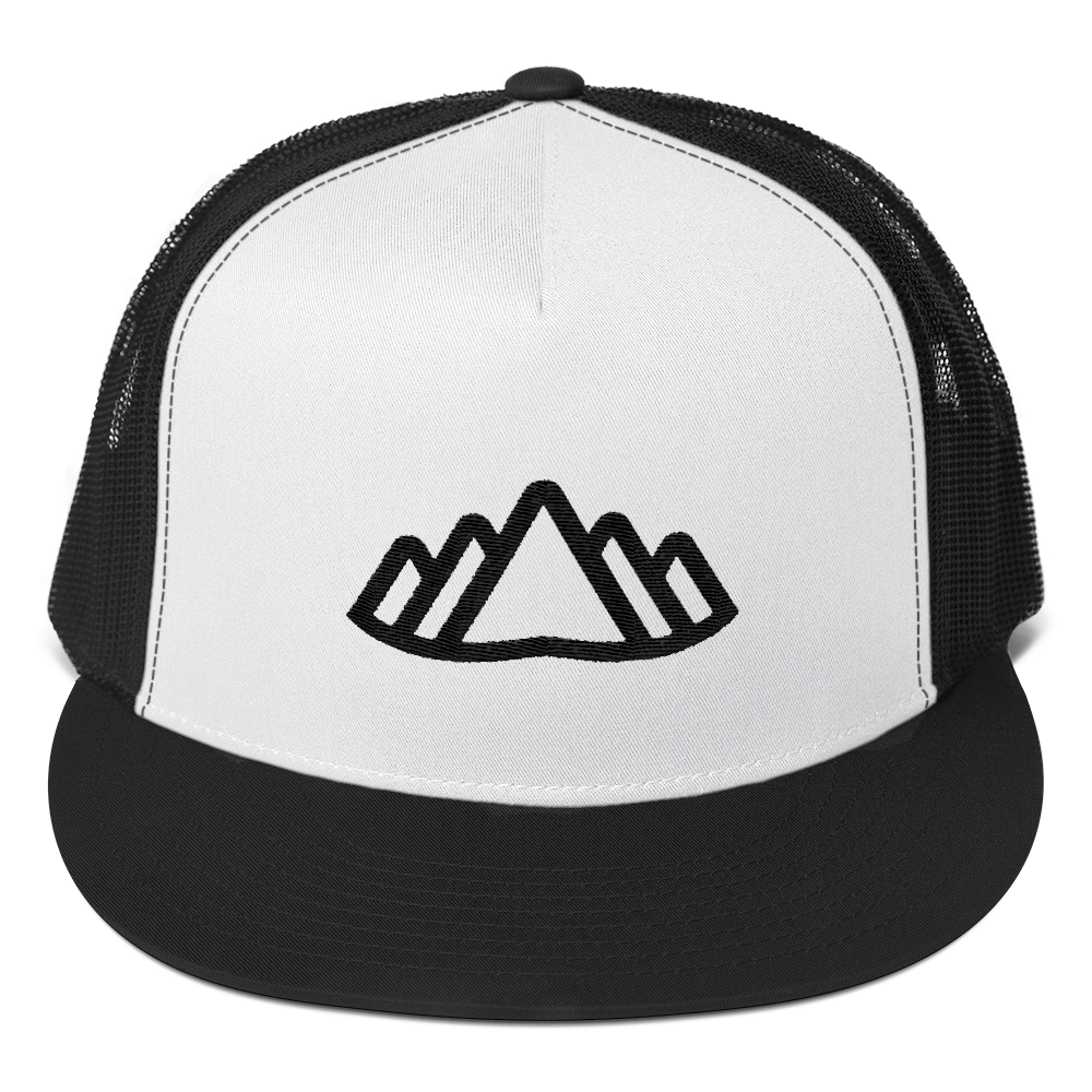 Altai Trucker Cap - Beyond The Treeline Clothing - Hiking, Mountains, Camping, Outdoors, Shirts, Hoodie
