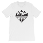 Treeline Tee - Beyond The Treeline Clothing - Hiking, Mountains, Camping, Outdoors, Shirts, Hoodie