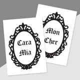 Cara Mia / Mon Cher Greeting Cards