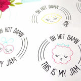Stickers - Oh Hot Damn This Is My Jam