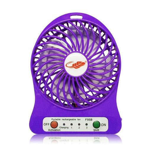 Portable Mini Multi-functional Fans Strong Wind Desk Fan with 18650 Battery 2200mAh charging Mini Fan For Outdoor Camping Kids student