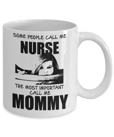 Call Me Mommy - White Mug - HobnobStore