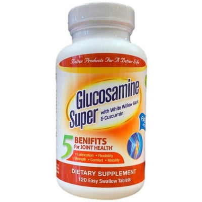 Confidence Glucosamine Plus Super (120 Tablets)-Confidence USA,