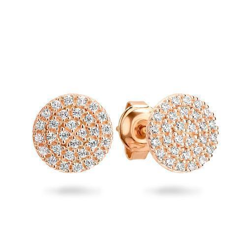 GEORGINI PAVO ROSE GOLD EARRING
